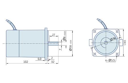 PMDC Motor 20 Watt, DC Motors, Manufacturer, Pune, India